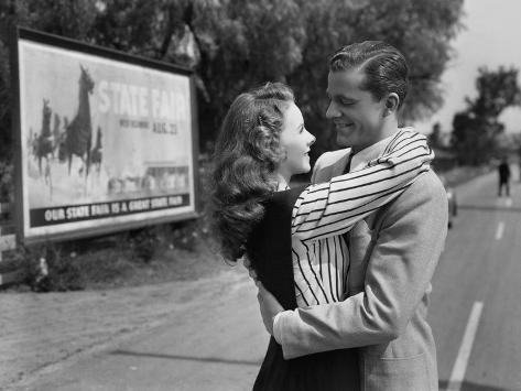 State Fair, Jeanne Crain, Dana Andrews, 1945 Photo