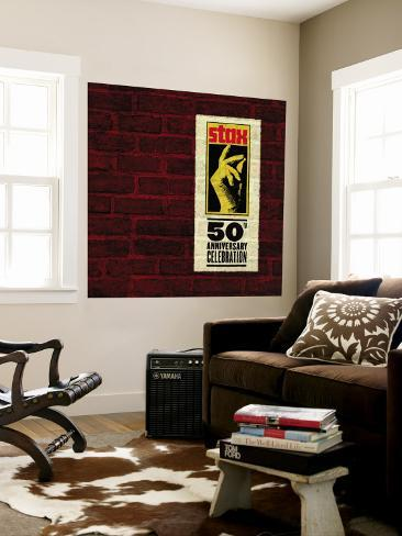 Stax 50th Anniversary Celebration Wall Mural