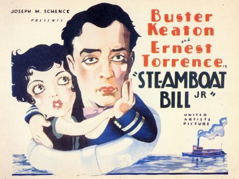 Steamboat Bill, Jr., 1928 Art Print