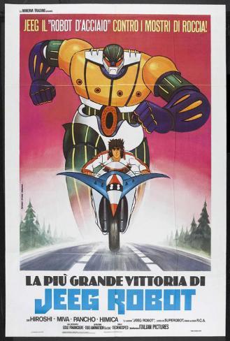 Steel Jeeg (TV) - Italian Style Poster