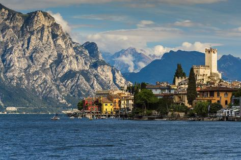 Malcesine, Lake Garda, Veneto, Italy Valokuvavedos