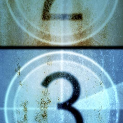 Film Countdown 4 Premium Giclee Print