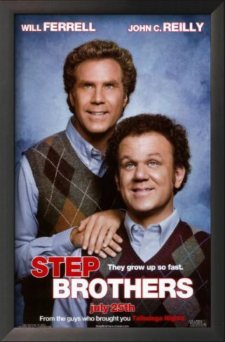 Step Brothers Impressão artística emoldurada