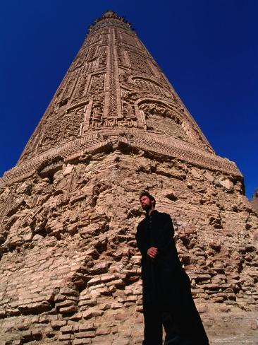 12th Century Minaret-E-Jam, the World's Second Tallest Minaret, Afghanistan Photographic Print