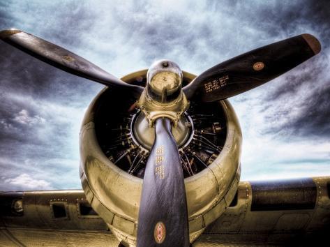 1945: Single Engine Plane Photographic Print