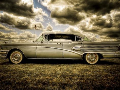 58 Roadmaster Photographic Print