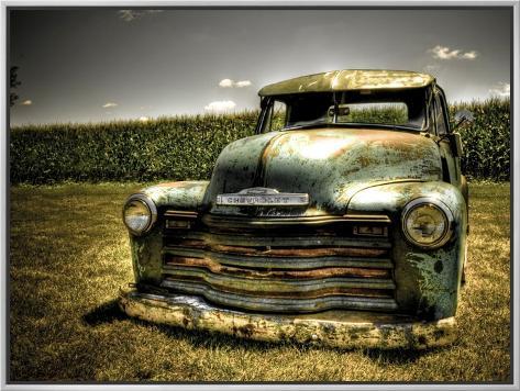 Chevy-lastbil Fotoprint
