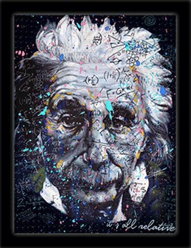 Einstein 3D Framed Art Fotografía por Stephen Fishwick en AllPosters.es
