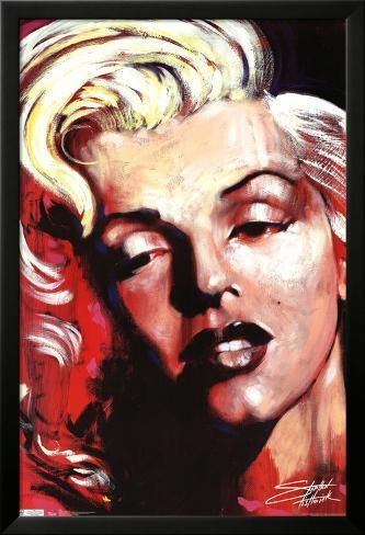 Hot! - Marilyn Monroe Lamina Framed Poster