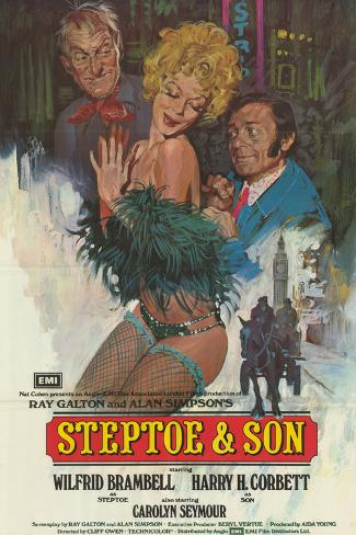 Steptoe and Son Art Print