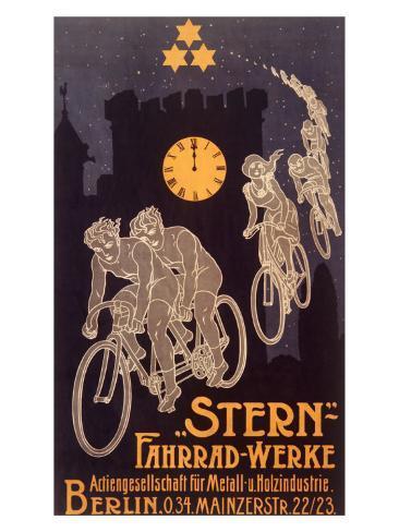 Stern Bicycle Works Ghost Gicléetryck
