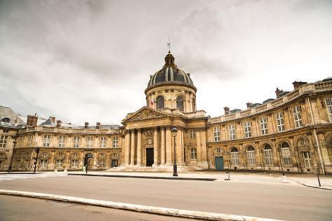 Paris, Institut De France Building. French Academy of Sciences Photographic Print