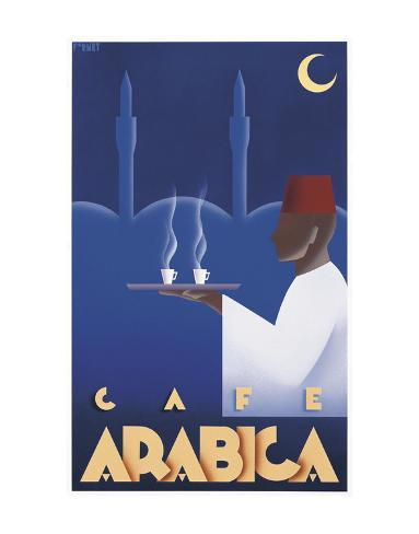 Cafe Arabica Art Print