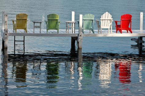 Lakeside Living Photographic Print