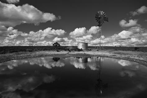 Ranch Pond, New Mexico Photographic Print