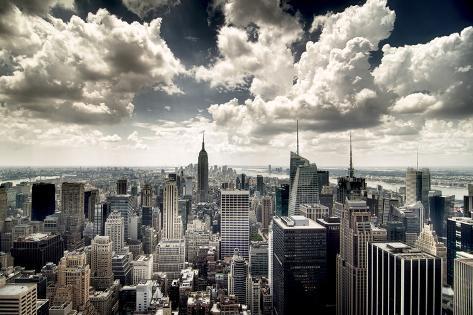 View of Manhattan, New York Photographic Print