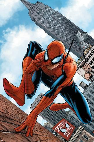 The Amazing Spider-Man No.546 Cover: Spider-Man Poster