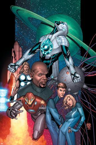 Ultimate Secret No.1 Cover: Captain Marvel Poster