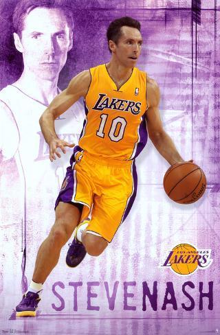 Steve Nash - Los Angeles Lakers Poster