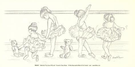 Ballerinas IV Art Print