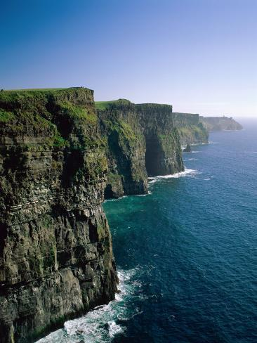 Cliffs of Moher, County Clare, Ireland Photographic Print