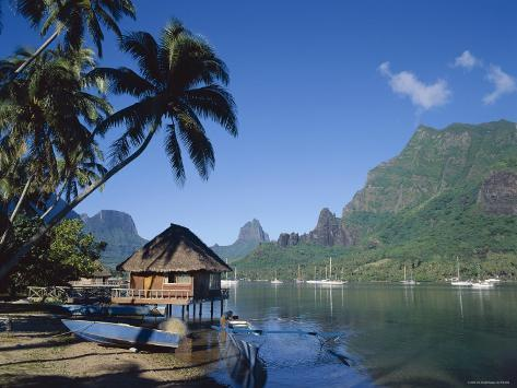Cook's Bay, Moorea, French Polynesia, South Pacific, Tahiti Photographic Print