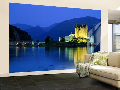Eilean Donan Castle, Loch Duich, Highlands, Scotland Wall Mural – Large