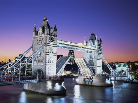 Tower Bridge, London, England Photographic Print