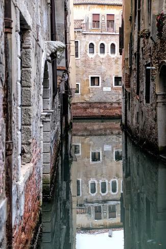 Venetian Canal Valokuvavedos