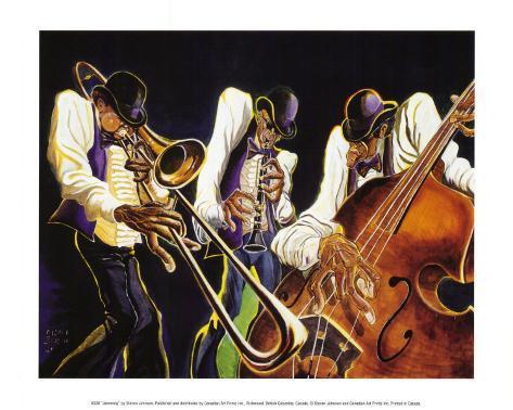 Jamming Art Print