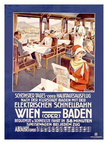 Wien Baden Giclee Print