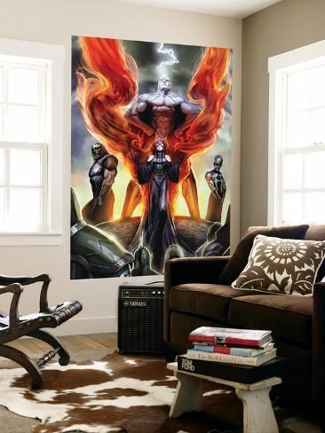 Realm of Kings Inhumans No.1 Cover: Medusa, Karnak and Gorgon Wall Mural