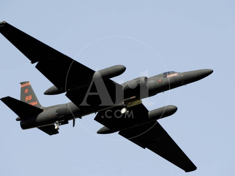 A U-2 Dragon Lady Takes Off from Osan Air Base, South Korea