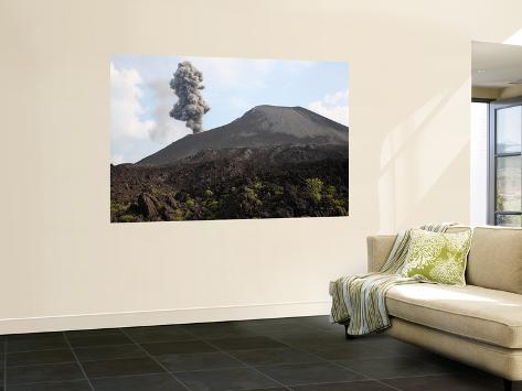 Ash cloud from vulcanian eruption of anak krakatau volcano for Ash wallpaper mural