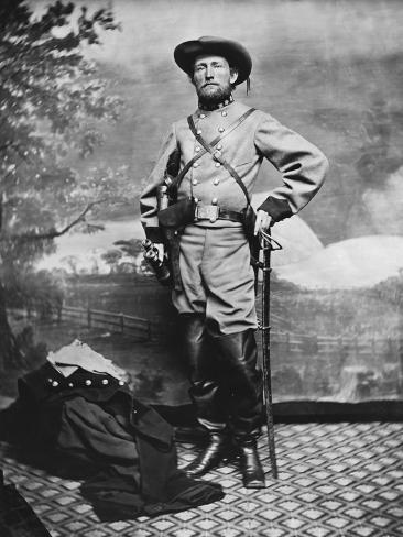 Confederate Army Colonel John S. Mosby During the American Civil War Photographic Print