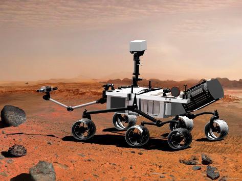 Nasa's Mars Science Laboratory Photographic Print