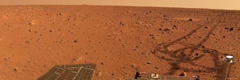 Panoramic View of Mars Photographic Print