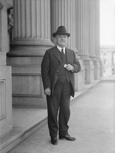 Senator William Brown Mckinley, Circa 1915 Photographic Print