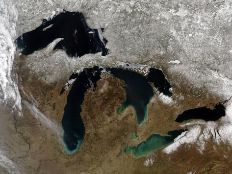 The Great Lakes Photographic Print