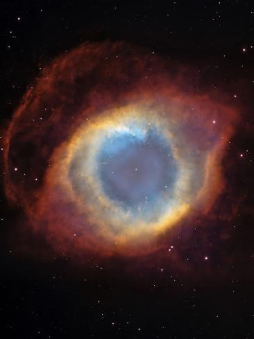 The Helix Nebula Photographic Print