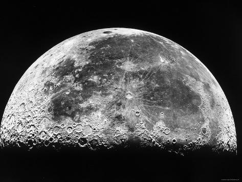 The Moon Photographic Print