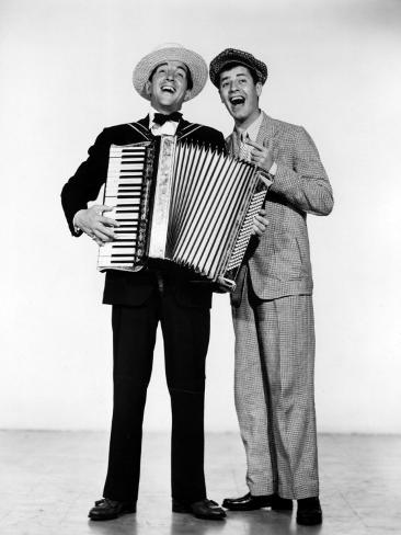 Stooge, Dean Martin, Jerry Lewis, 1952, Accordian Photo