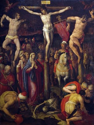 Crucifixion of Christ, 1569 Lámina giclée