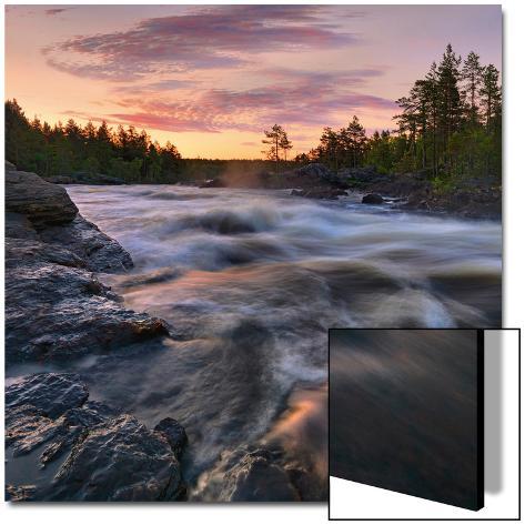 Voxnan River Arte em acrílico