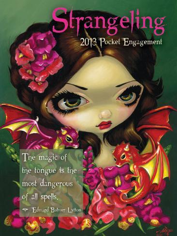 Strangeling Pocket - 2013 Pocket Engagement Calendar Calendars