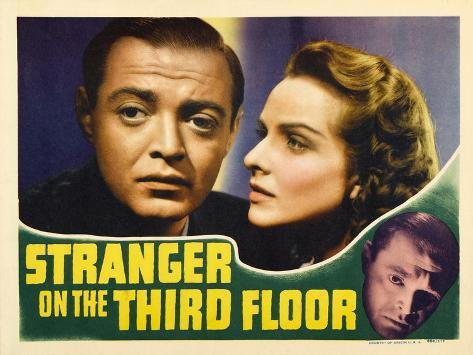 Stranger on the Third Floor, 1940 Art Print