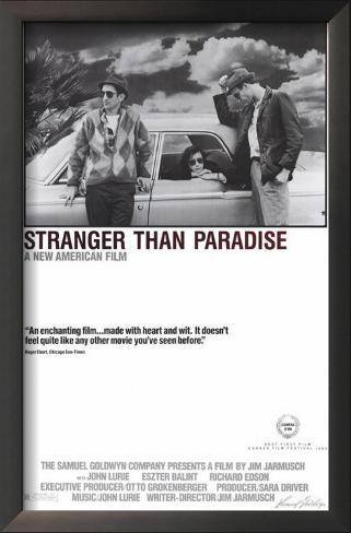 Stranger Than Paradise Framed Art Print