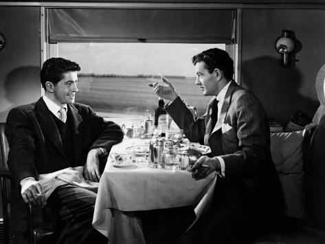 Strangers on a Train, 1951 Impressão fotográfica