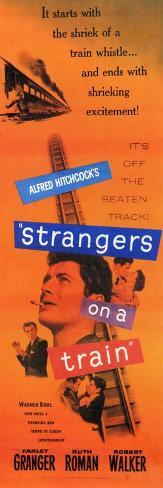 Strangers on a Train, 1951 Art Print