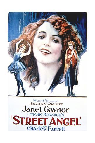 Street Angel - Movie Poster Reproduction Art Print
